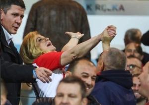 Kolinda opet pjevala i slavila  na tribinama stadiona Rujevica