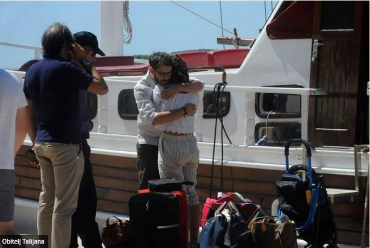 Supruga preminulog Talijana otkrila detalje putovanja na kobnom brodu