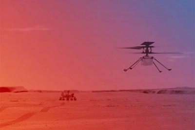 Pola godine na Marsu: Nakon šest mjeseci na Marsu helikopter Ingenuity i dalje leti