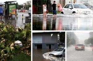 Beograd na vodi i bukvalno: Poplavljeni dijelovi grada, na nekim mjestima palo 100 litara kiše za 45 minuta