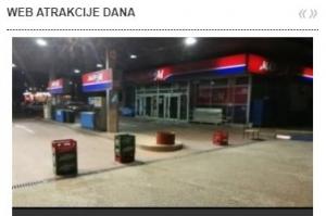Sajt Nebojše Vukanovića dobio nagradu za WEB ATRAKCIJU DANA za 19.4.