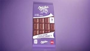 Milka čokolada bez jedne kockice kao marketinški trik