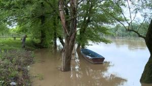 Vodostaj rijeke Save u porastu