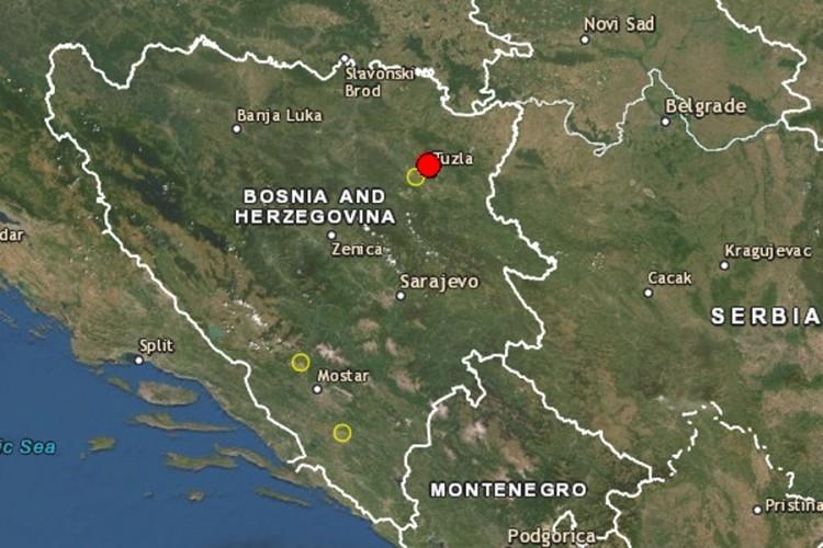 Četvrti zemljotres u dvije sedmice