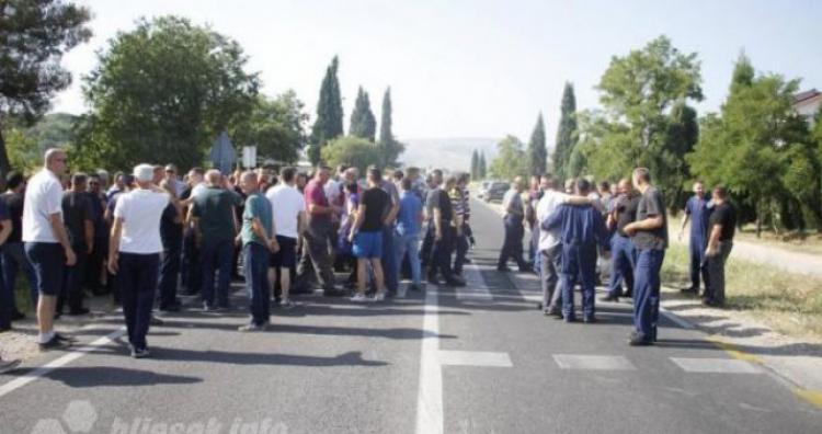 Radnici elektrolize najavili potpunu blokadu Aluminija