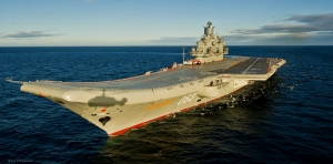 Gori jedini ruski nosač aviona Admiral Kuznjecov