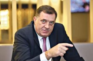 Protest pred VSTV - rušenje Dodika