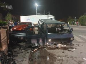 Teška nesreća u Živincama: 7 povrijeđenih u sudaru 3 vozila