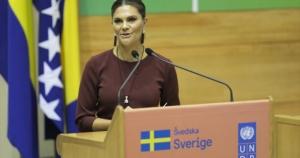 Princeza Viktorija: 100.000 građana BiH u Švedskoj