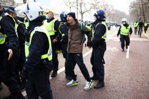 Protesti u Londonu zbog mjera protiv koronavirusa