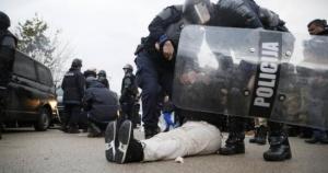 Policija silom deblokirala Uborak
