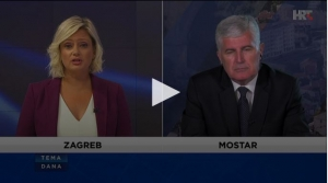 Čović: Put ka NATO vrlo precizno definiran sporazumom