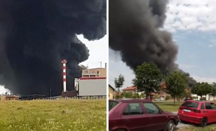 (video) Velika havarija u Hrvatskoj, dim se vidi sa 25 km udaljenosti