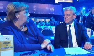 Džaferović sa Merkel