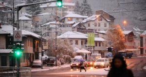 Snijeg u većem dijelu BiH, na jugu kiša