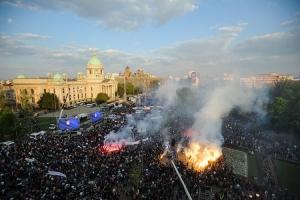 PU Beograd: Na skupu između 140.000 i 150.000 ljudi