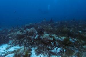 FOTO Antički ostaci olupine broda prvo podvodno nalazište otvoreno za javnost