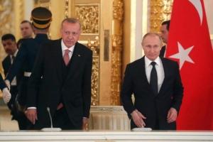 Erdogan u Sočiju sa Putinom