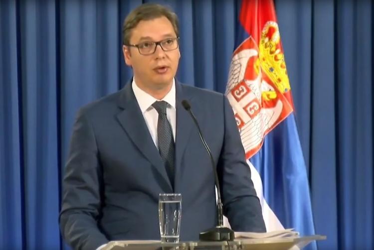 Vučić: Kad jedna puška opali, grmljavinu topova niko neće moći da spriječi