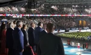 Dodik napustio svečanu ložu za vrijeme defilea sportista sa Kosova