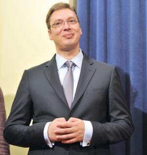 """VIDEO Novinarka u Mostaru nasmijala Aleksandra Vučića: """"Uvijek li je frka kad vi dođete, majko draga"""""""