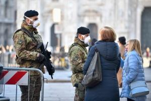 Peta smrt u Italiji, vojska i policija na ulicama