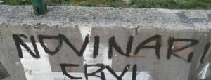 Protest novinara, novi grafiti u Sarajevu