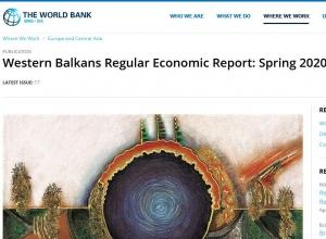 WB - Z. Balkan: Nove bilješke o uticaju COVID-19
